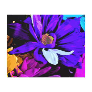 Wrapped Canvas Print - Bright Blossoms 4727DCR