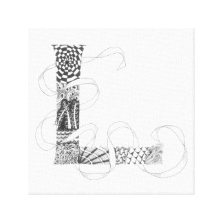 "Wrapped Canvas Print - Zenletter ""L"""