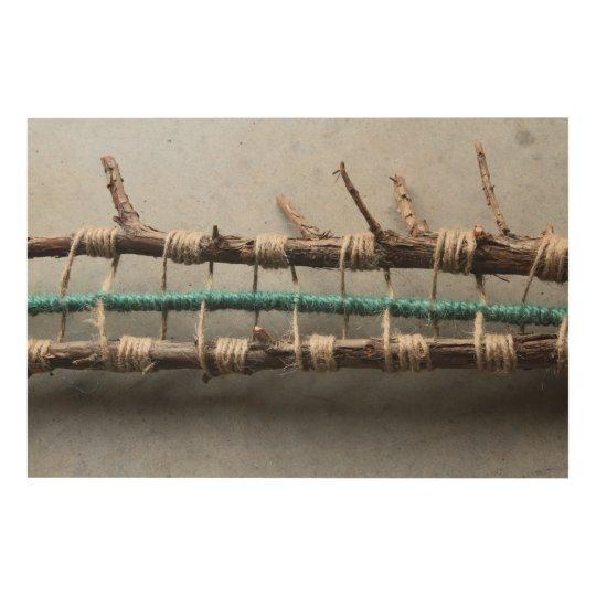 Wrapped Cedar Nature Art Closeup