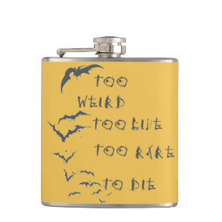 "Wrapped Flask ""Fear and Loathing in Las Vegas"""