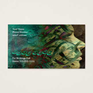 Wrapped In Acid Business Card