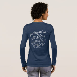 Wrapped In Endless Boundless Grace Longsleeve Long Sleeve T-Shirt