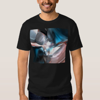 Wrapped in Silk Abstract T Shirts