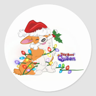 Wrapped Up in the Holidays- Stickers