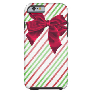 Wrapped with Red Bow Tough iPhone 6 Case