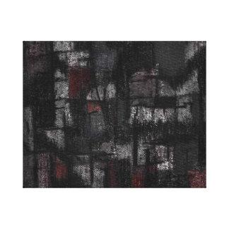 Wrapper canvas Tango in the rain