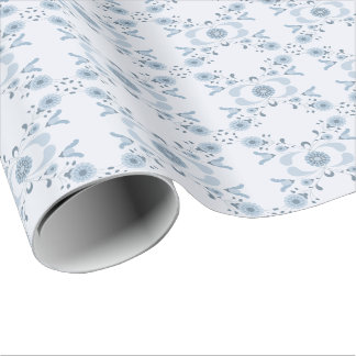 Wrapping - Hicurbita Blue Wrapping Paper