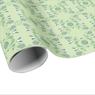 Wrapping - Hicurbita Green Wrapping Paper