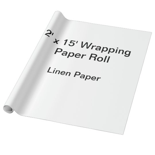 Linen Wrapping Paper, 30 in x 15 ft