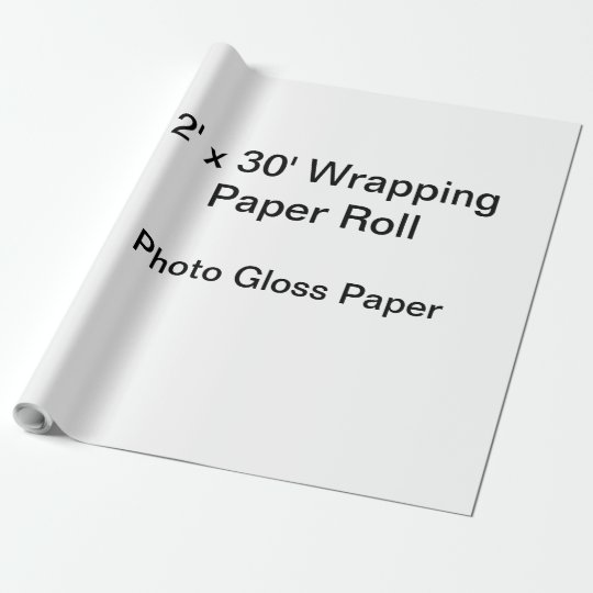 Matte Wrapping Paper, 30 in x 30 ft