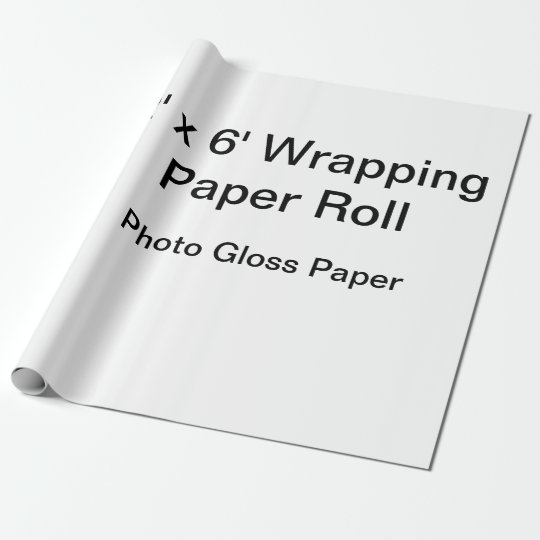 Matte Wrapping Paper, 30 in x 6 ft