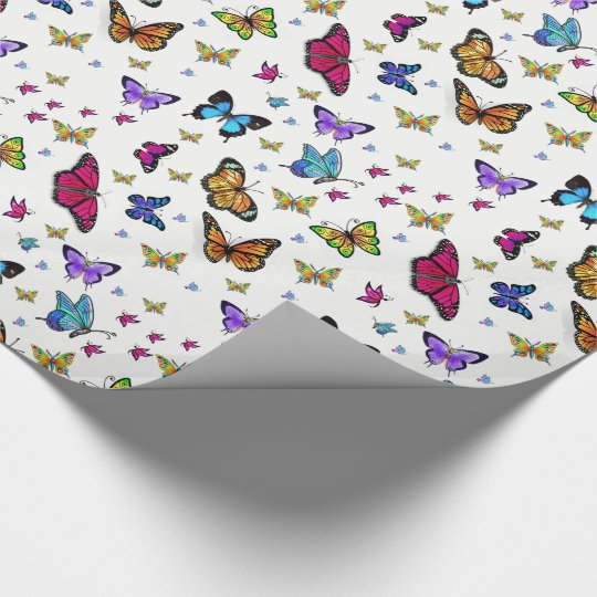Wrapping paper Butterfly
