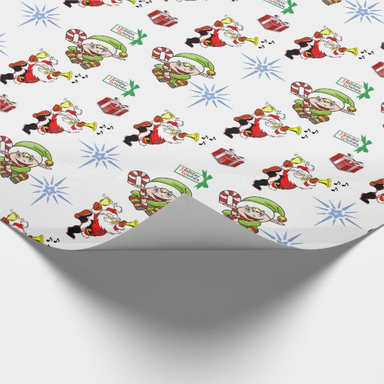 Wrapping paper Christmas