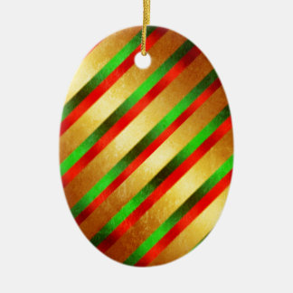 Wrapping Paper Christmas Ornament