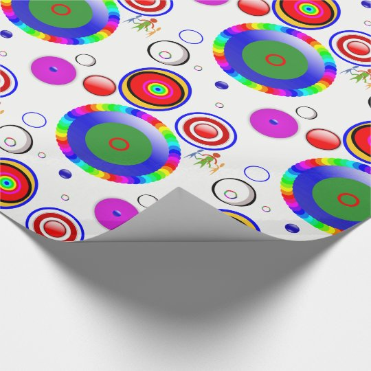Wrapping paper Circles