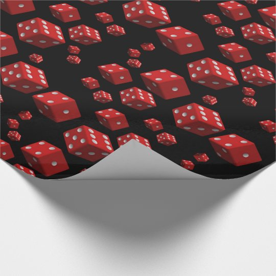 Wrapping paper Dice
