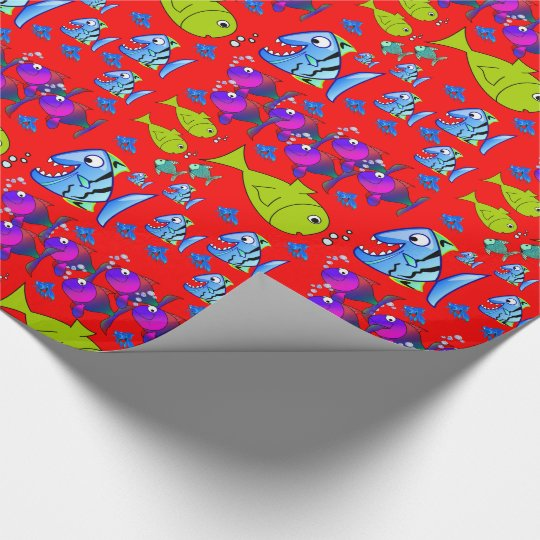 Wrapping paper Fish