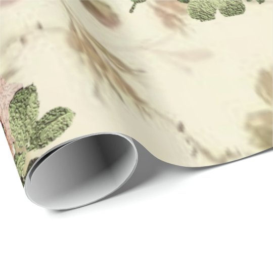 Wrapping paper Floral