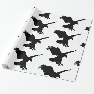 Wrapping Paper flying eagle