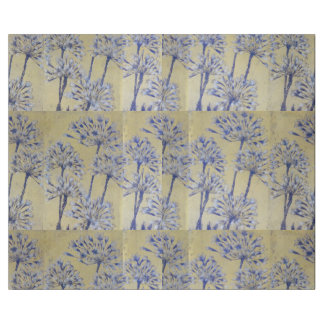 WRAPPING PAPER. GOLDEN & LAVENDER AGAPANTHUS WRAPPING PAPER