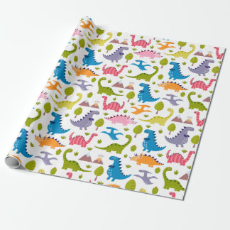 Wrapping Paper - Just a Bunch of Dinos