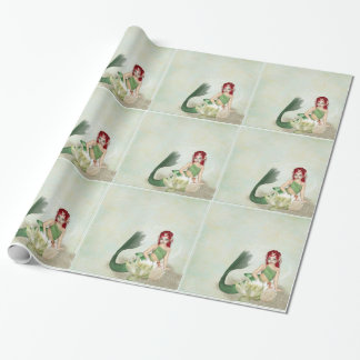Wrapping Paper--Mermaid Wrapping Paper