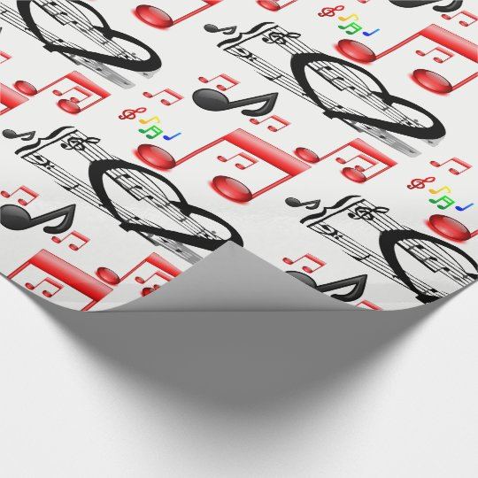 Wrapping paper Rock Music