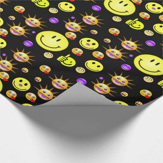 Wrapping paper Smiley