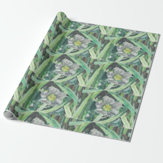 "Wrapping Paper ""Strawberry Flower"", ALarsenArtist"