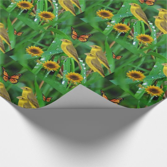Wrapping paper Sunflower