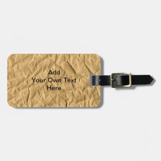 Wrapping paper texture Luggage Tag
