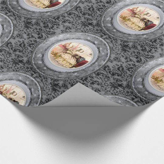 Wrapping paper Victorian