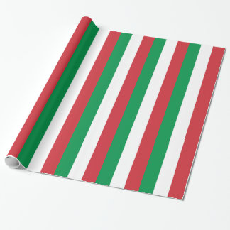 Wrapping paper with Flag of Italy
