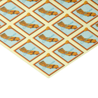 Wrapping Tissue - CALIFORNIA - Framed Icon Tissue Paper