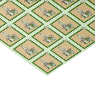 Wrapping Tissue - IDAHO - Framed Icon Tissue Paper