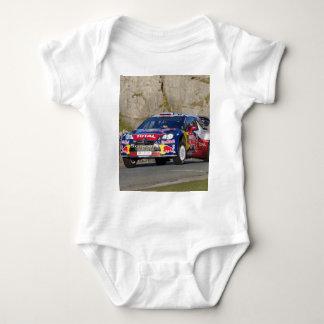 WRC Rally Car Cover Baby Bodysuit