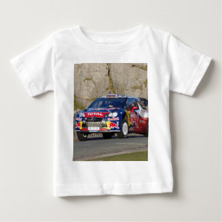 WRC Rally Car Cover Baby T-Shirt