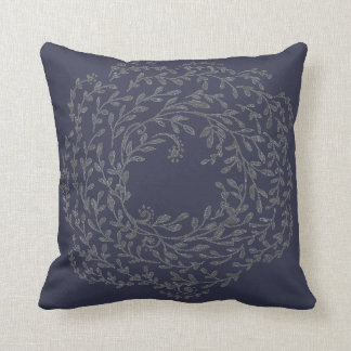"Wreath 2 - 16"" x 16"" pillow"