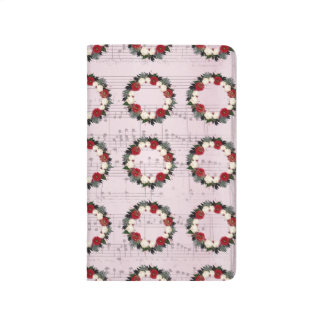 "Wreath ""Fleur"" Flowers Floral Pocket Journal"