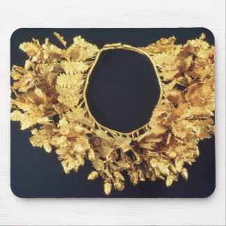 Wreath, Greek, late 4th century BC (gold) Mouse Mat