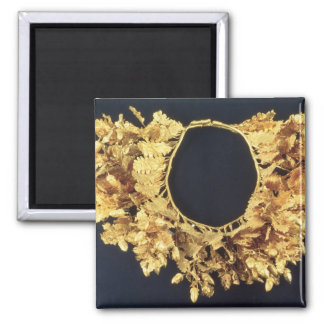 Wreath, Greek, late 4th century BC (gold) Square Magnet