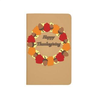 Wreath ~ Happy Thanksgiving Journal
