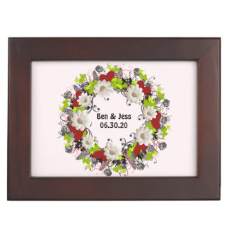 Wreath Hartz Wedding Flowers Hearts Gift Boxes