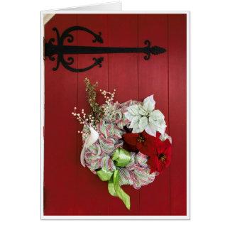 Wreath Holiday Card