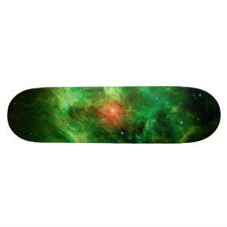 Wreath Nebula, Barnard 3, Milky Way Skateboard Deck