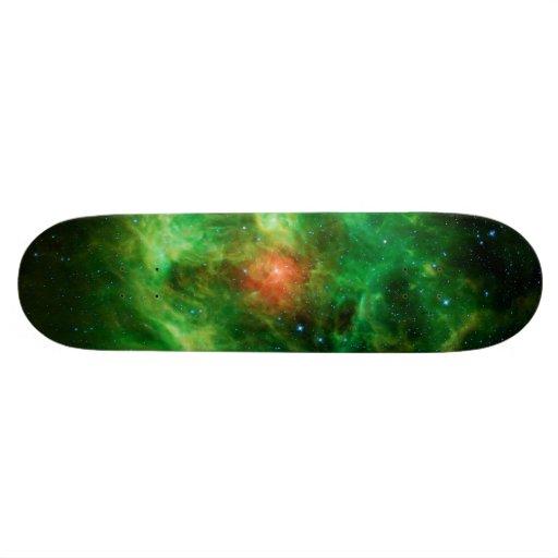 Wreath Nebula, Barnard 3, Milky Way Skateboard Decks