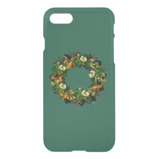 """Wreath """"Old Gold"""" Apple iPhone Clearly 8/7 iPhone 8/7 Case"""