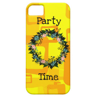 """Wreath """"Party Time"""" Apple iPhone SE + 5/5s iPhone 5 Case"""