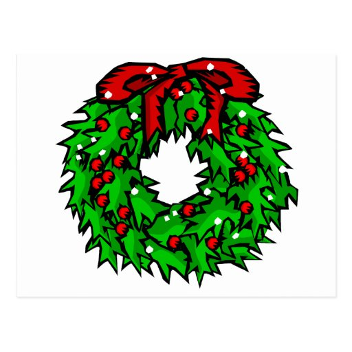wreath post cards