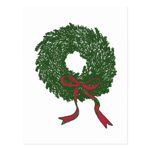 Wreath Postcards